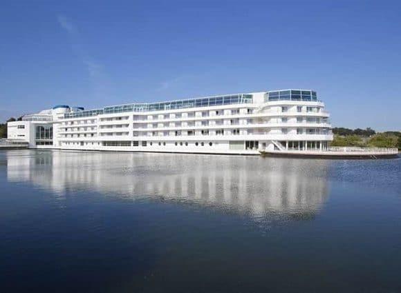 Chantier Vinci : extension de l'hôtel Thalasso Miramar à Arzon