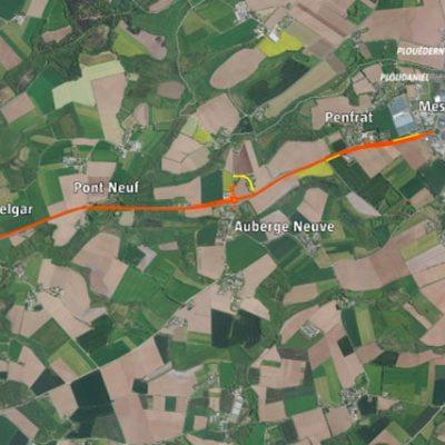 Axe Ploudaniel – Saint Eloi : travaux de sécurisation de la RD770